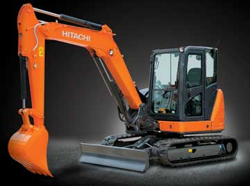ZX65USB-5 Hitachi Mini Excavator