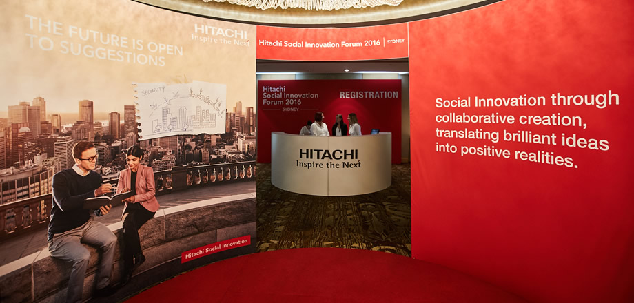 Hitachi's Social Innovation Forum 2016 in Sydney