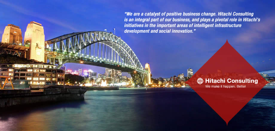 Hitachi Consulting Australia - A catalyst of positive business change.