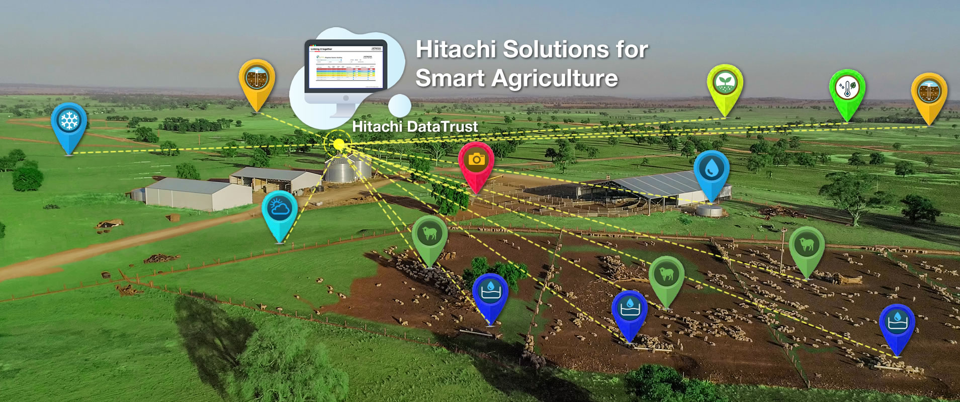View Hitachi Smart Solutions for Agriculture